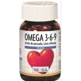 Tongil Omega 3 6 9 60 perlas