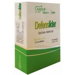 DEFENSLIDER (limon,cebolla y ajo) 30vcaps.NATURLIDER